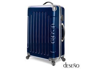 "Deseno Legend 7010 Series Luggage with Carbon Veins – Marine Blue – 24"""