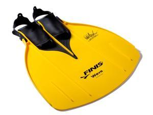 FINIS Youth Wave Monofin - Mens 1-7 Womens 2-8 - Yellow