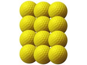IZZO Soft Flite Golf Balls (12 Count) - Yellow