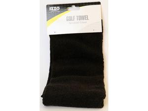 IZZO Golf Pro Towel - Black
