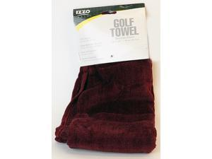IZZO Golf Pro Towel - Burgundy