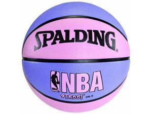 "Spalding NBA Street Basketball - Size 6 (28.5"") - Pink/Purple"