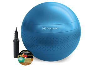 Gaiam Total Body 75 cm Balance Ball Kit - Blue
