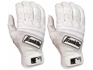 Franklin The Natural II Adult Batting Gloves - Small - Pearl/White
