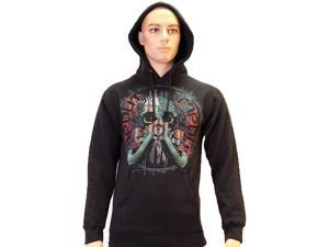 Tapout Ready For War Pull Over Hoodie - S - Black