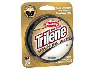 Berkley Trilene 100% Fluorocarbon Fishing Line (200 yds) - 10 lb Test-Green Tint