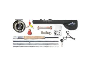 Wright & McGill Plunge Fly Fishing Collection with 9' Rod - Half Well Handle
