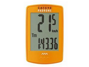 CatEye Padrone Wireless Cycle Computer - CC-PA100W - Orange