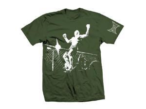 Tapout Champion T-Shirt - XL - Green/White