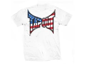 Tapout Patriot T-Shirt - Small - White