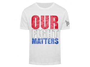 Tapout Our Fight Matters T-Shirt - Large - White