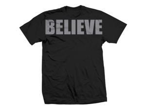 Tapout Believe T-Shirt - Small - Black/Gray