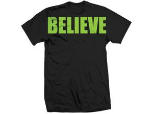 Tapout Believe T-Shirt - Large - Black/Green