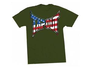 Tapout Patriot T-Shirt - XL - Green