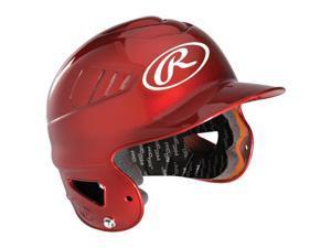 Rawlings Coolflo High Impact Batting Helmet - Metallic Scarlet