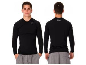 RVCA VA Sport Virus Long Sleeve Compression Top - 2XL - Black