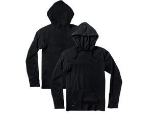 RVCA VA Sport Agyle Pullover Hoodie - XL - Black