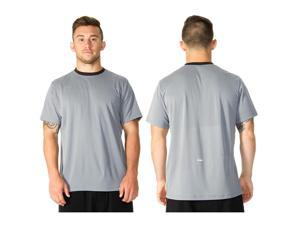RVCA VA Sport Plata T-Shirt - XL - Monument Gray