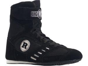 Ringside Power Boxing Shoes - 9 - Black
