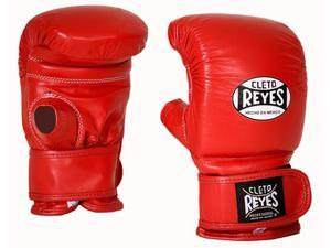 Cleto Reyes Boxing Bag Gloves with Velcro Closure - Medium - Red