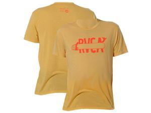 RVCA Espo Board Surf T-Shirt - XL - Ochre