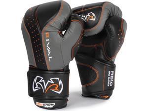 Rival d30 Intelli-Shock Bag Gloves-Black/Gray-Medium