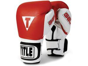 Title Gel World Bag Gloves - Medium - Red