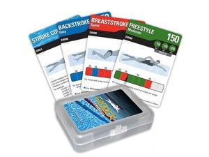 FitDeck Swimming Exercise Playing Cards