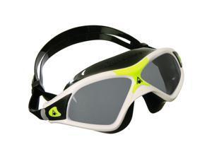 Aqua Sphere Seal XP2 Smoke Lens Swim Mask - White/Yellow
