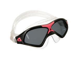 Aqua Sphere Seal XP2 Smoke Lens Swim Mask - Black/Coral