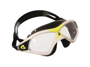 Aqua Sphere Seal XP2 Clear Lens Swim Mask - White/Yellow