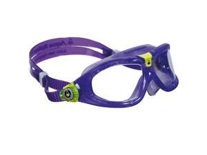 Aqua Sphere Seal Kid 2 Clear Lens Swim Goggles - Purple/Lime