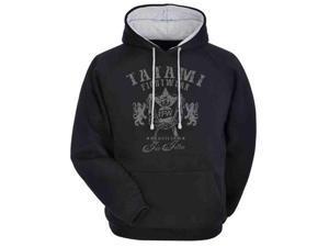 Tatami Fightwear Heraldic Jiu Jitsu Hoodie - Small - Black