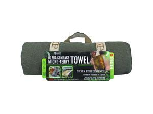 McNett Tactical Micro-Terry Ultra Compact Large Towel - OD Green