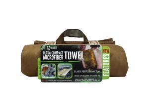 McNett Tactical Microfiber Ultra Compact Towel - Medium - Coyote