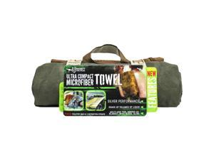 McNett Tactical Microfiber Ultra Compact Towel - Medium - OD Green