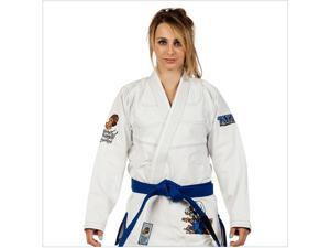 Tatami Fightwear Women's Thinker Monkey Jiu-Jitsu GI - F1 - White