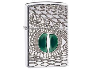 Zippo Armor Dragon's Eye High Polished Chrome Pocket Lighter