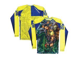 Bad Boy Gawakoto Nordic Journey Long Sleeve Rashguard - Small