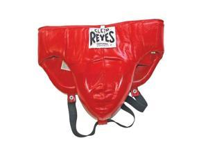 """Cleto Reyes Traditional No-Foul Padded Protective Cup - Large (36-38"""") - Red"""