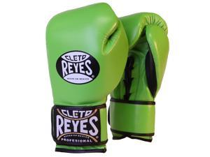 Cleto Reyes Fit Cuff Boxing Training Gloves - Small - Citrus Green