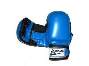 Gracie Jiu-Jitsu Sparring Gloves - Small - Blue