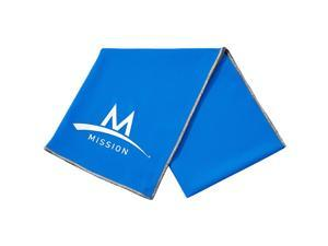 "Mission Athletecare Enduracool Cooling Techknit Towel - 12"" x 33"" - Blue"