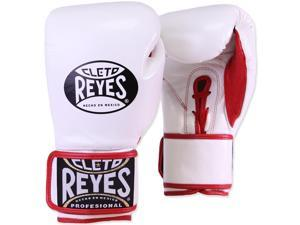 Cleto Reyes Fit Cuff Boxing Training Gloves - Small - White