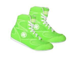 Ringside Lo-Top Diablo Boxing Shoes - 13 - Neon Green