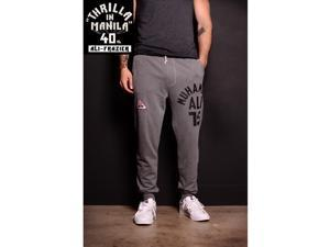 Roots of Fight Thrilla Anniversary Ali Sweatpants - 3XL - Gray