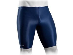 FINIS Men's Solid Jammers Swimsuit - 36 - Navy
