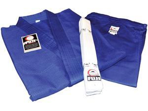 Fuji Single Weave Judo Gi - 1 - Blue