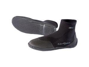 NeoSport Neoprene 3mm Low Top Dive Boots - Size 6 - Black