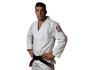 Fuji Single Weave Judo Gi - 1 - White